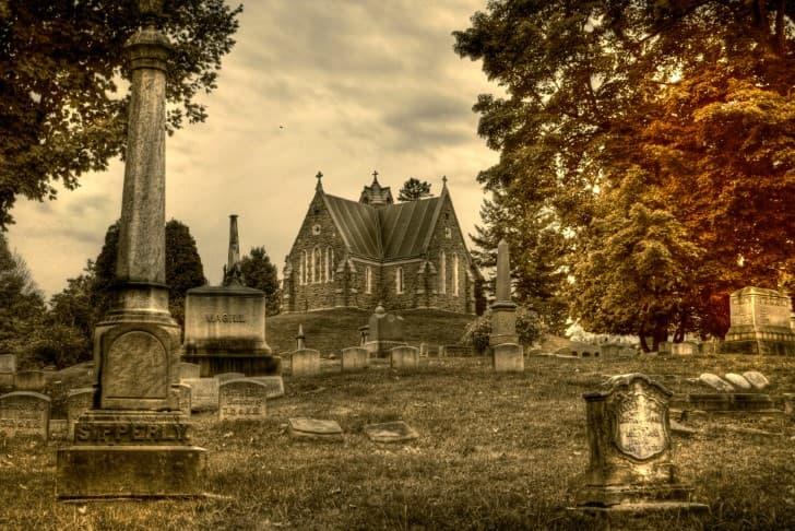 cementerio solitario