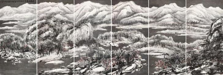 cui ruzhuo the grand snowing mountains