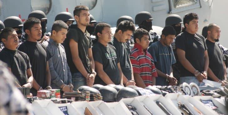 detencion crimen organizado marina mexico