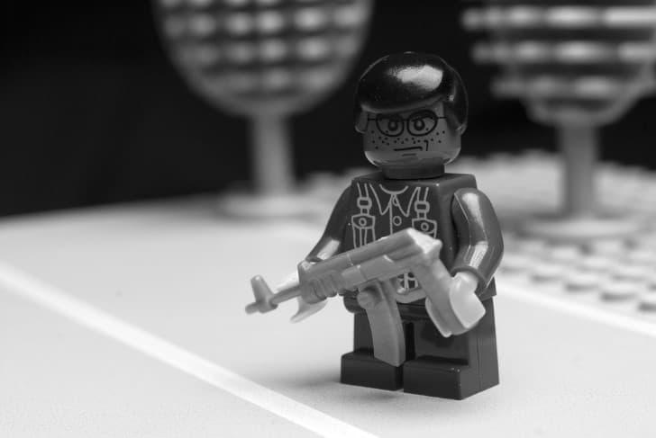 figura lego arma