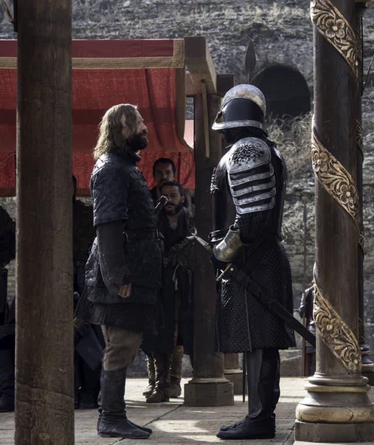 gregor vs sandor Clegane