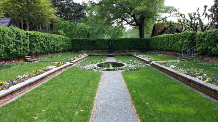 jardines de Agecroft Hall (1)