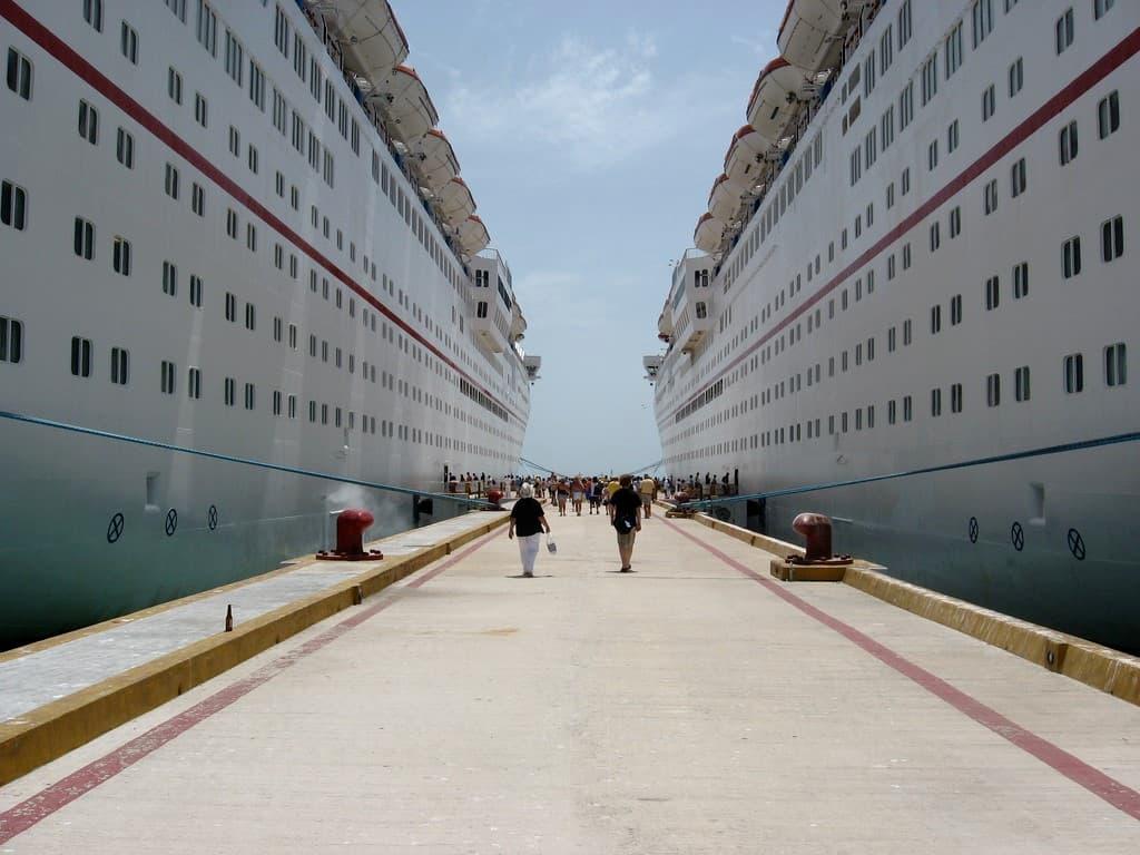 muelle de progreso cruceros