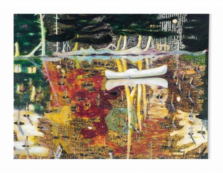 peter doig swamped