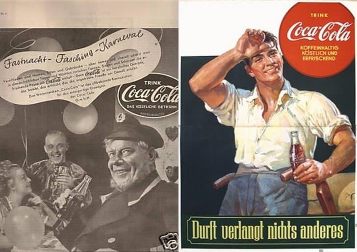 propaganda de coca cola alemnaia nazi