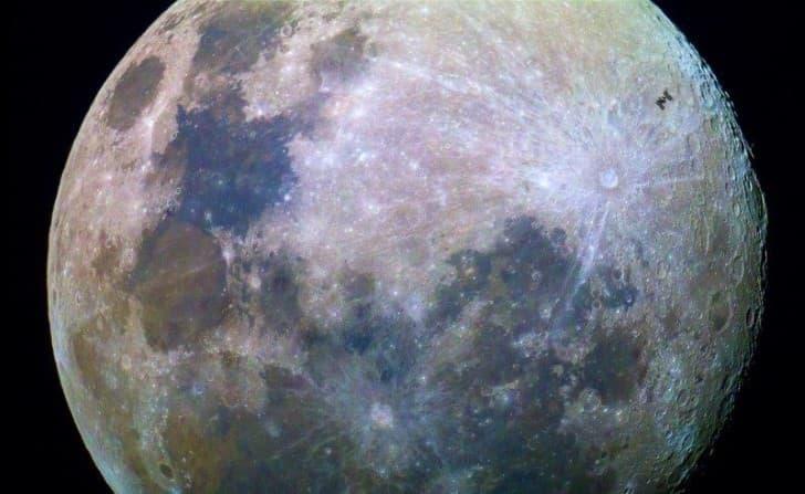 superficie lunar espectacular