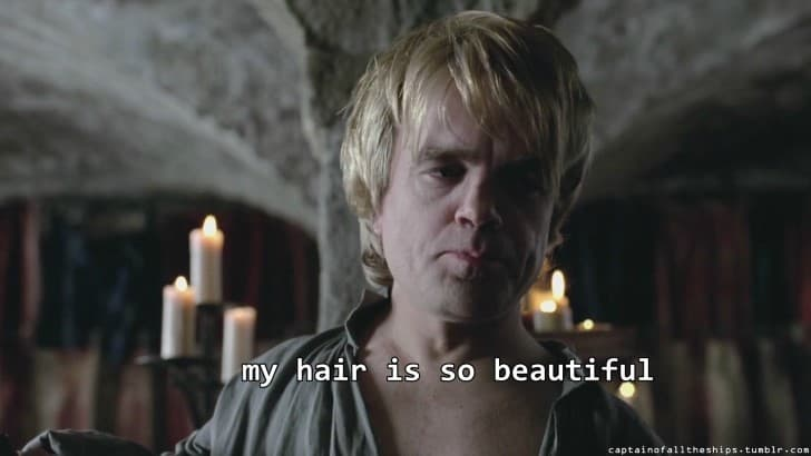 tyron lannister cabello rubio