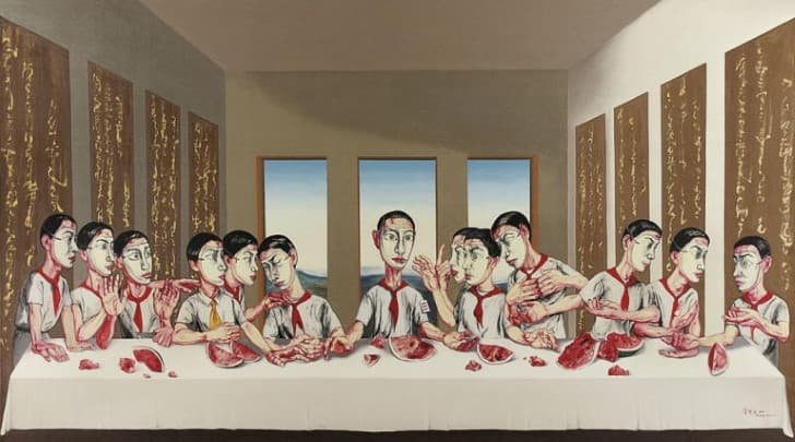 zeng fanzhi the last supper