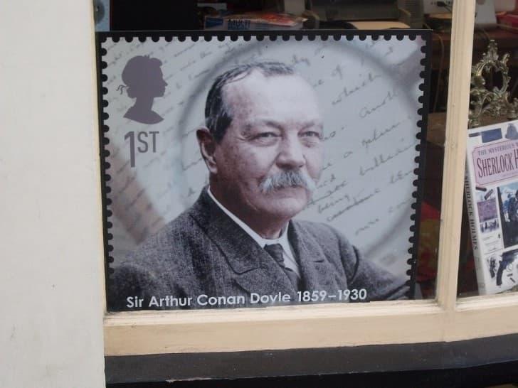 Arthur Conan Doyle fotografia a color
