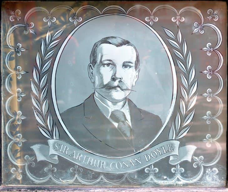 Arthur Conan Doyle retrato