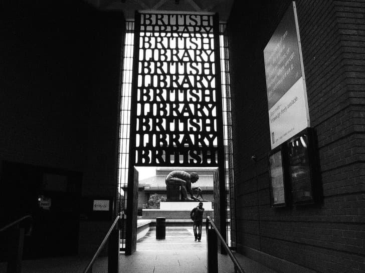 British Library entrada