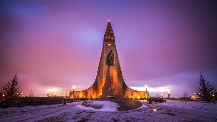 Reikiavik estatua Leif Eriksson