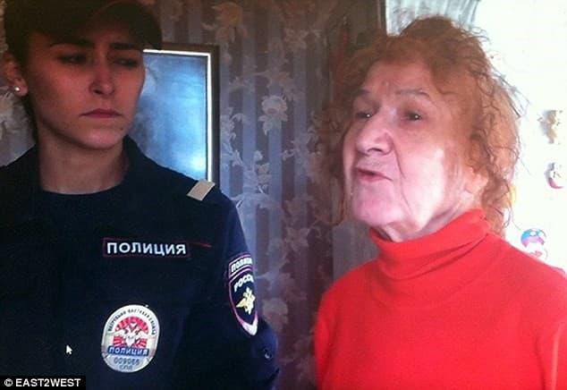 Samsonova detenida por la policia rusa