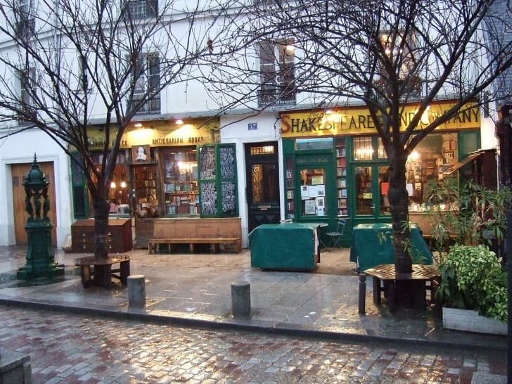 Shakespeare and Co libreria en paris