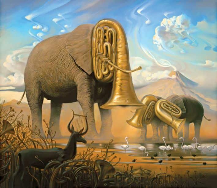 Sonata Africana Vladimir Kush
