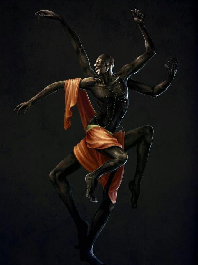 anansi figura humana