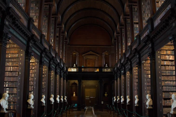 biblioteca Trinity College en dublin