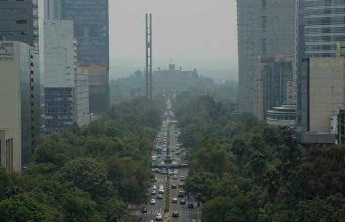 ciudad de mexico contaminacion ambiental