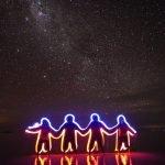 figuras exposicion cielo