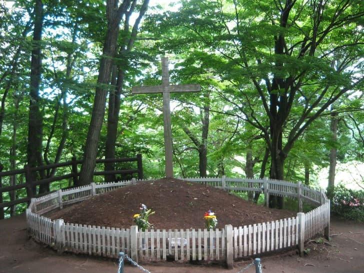 la tumba de jesus en shingo japon