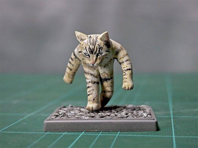 memes animales esculturas miniaturas (1)