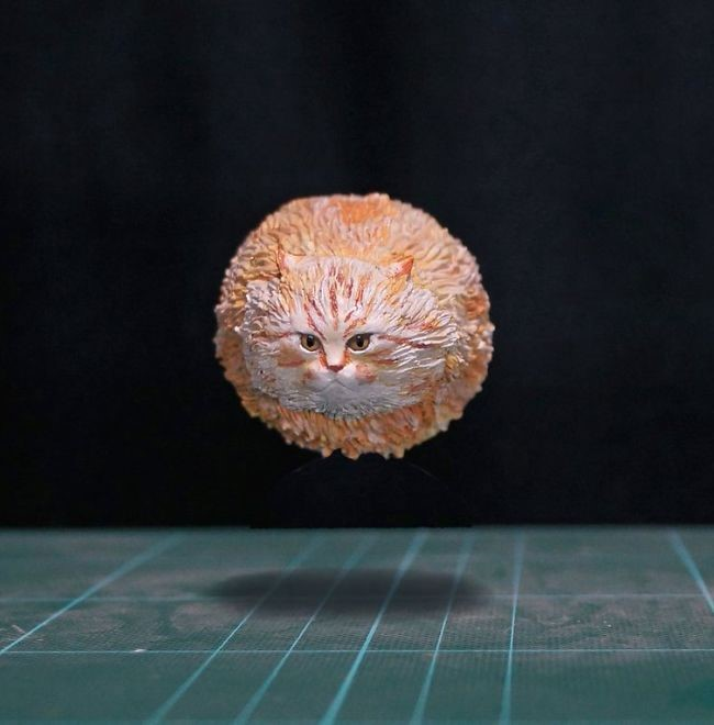 memes animales esculturas miniaturas (10)