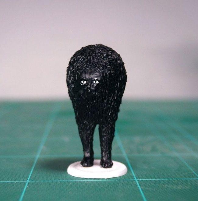 memes animales esculturas miniaturas (12)