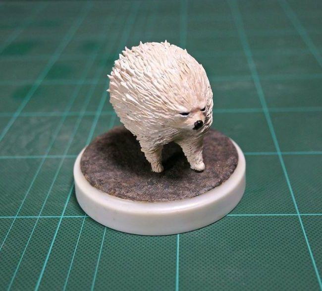 memes animales esculturas miniaturas (16)
