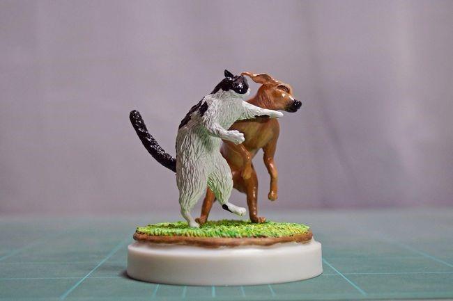 memes animales esculturas miniaturas (27)