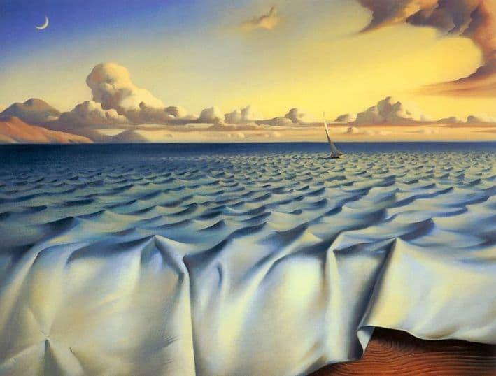 olas en el oceano