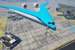 Flying V avion prototipo (2)