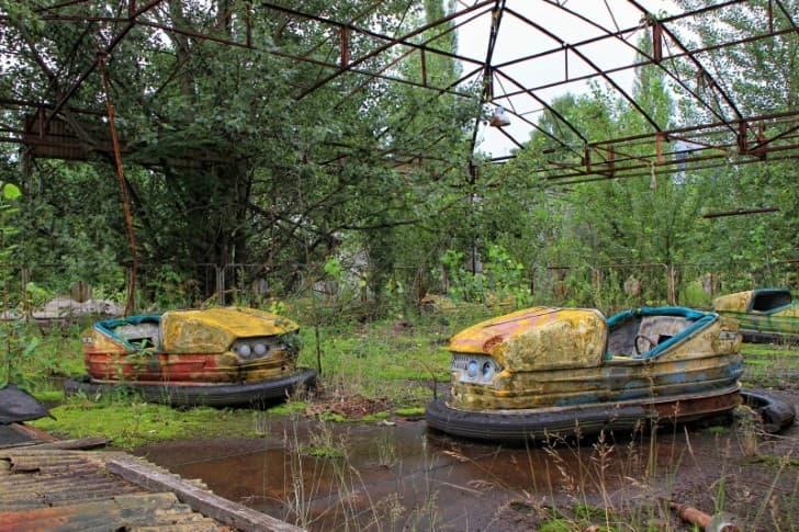 Pripyat, Ucrania, Chernobil desastre nuclear