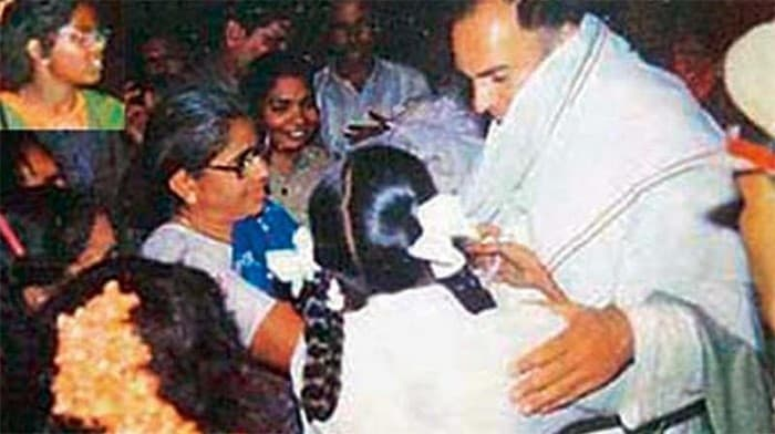 Rajiv Gandhi ultima foto