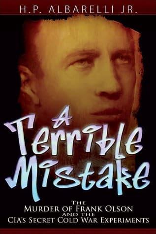 a terrible mistake portada del libre de h p albarelli jr