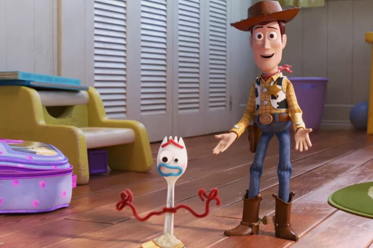 forky y woody toy story 4