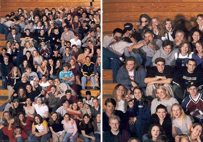 foto de clase Columbine
