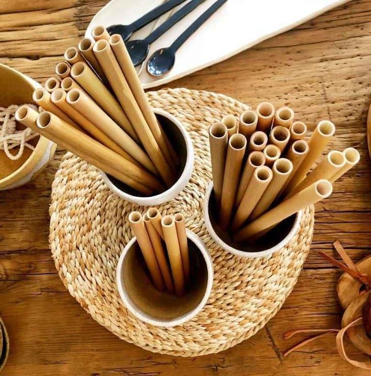 pajillas de bambu