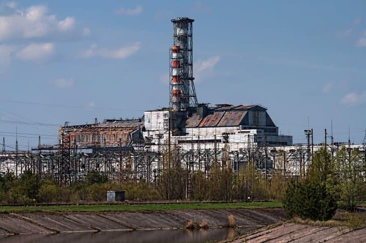 reactor cuatro en chernobil