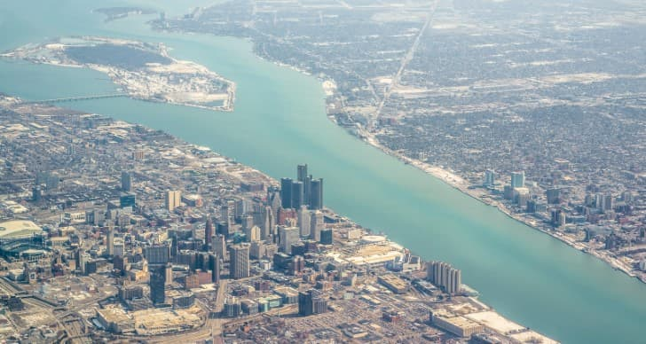 Detroit y Windsor