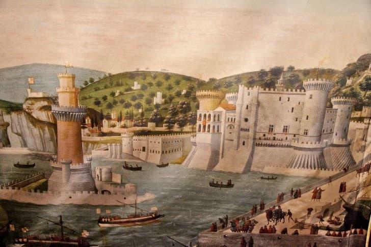Fortaleza de Acre en Galilea