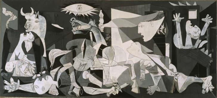 Guernica de Picasso,