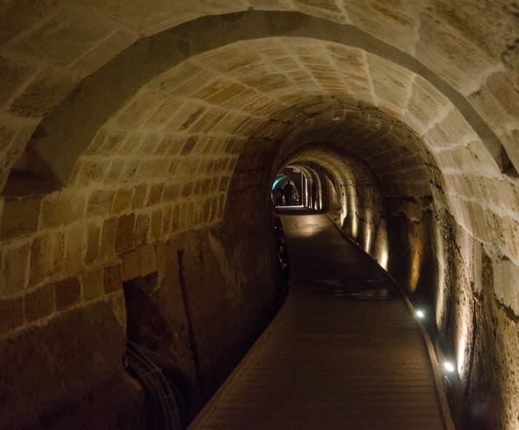 Tunel de los Templarios en Fortaleza de Acre epoza meideval