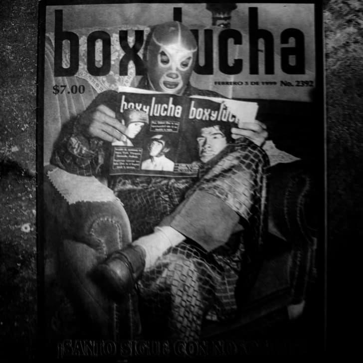 el santo box y lucha sesion fotografica