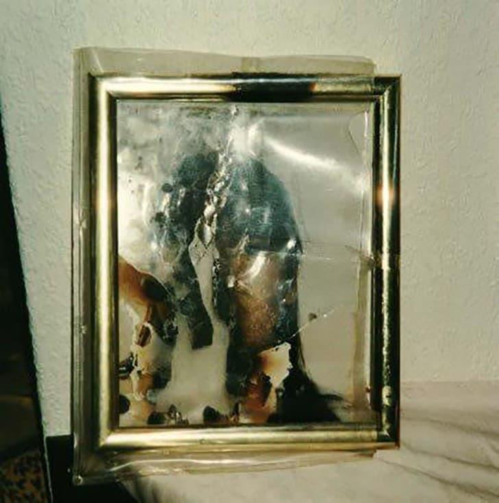 foto de estefania quemada