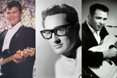 itchie Valens, Buddy Holly y J.P. Richardson