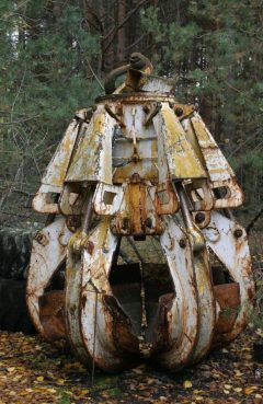 La garra de Chernóbil, uno de los objetos más letales del planeta