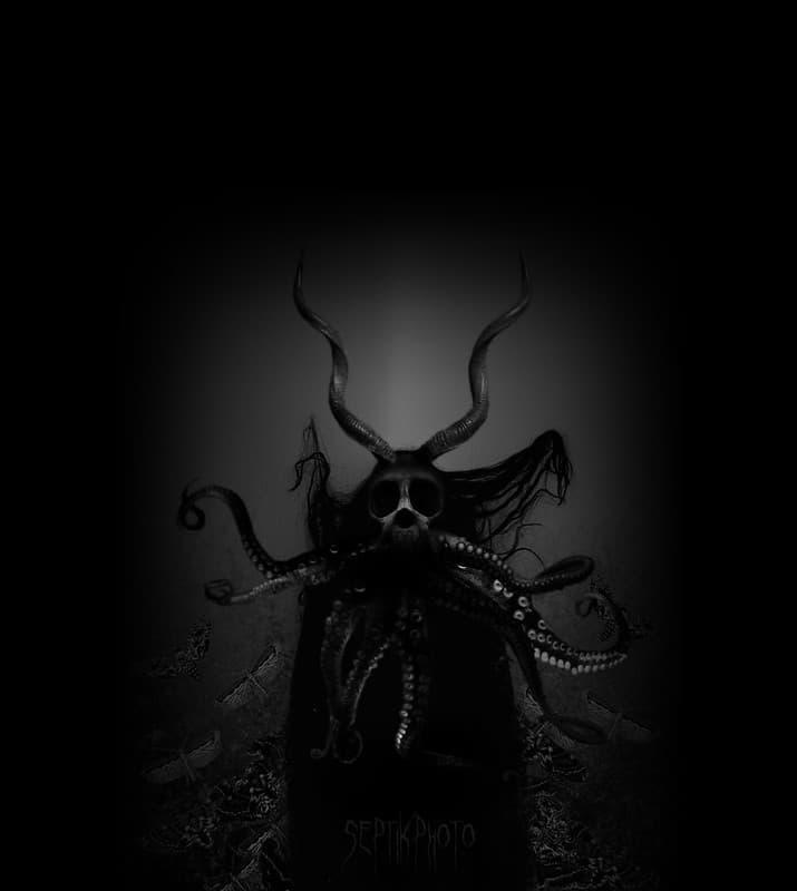 monstruo con tentaculos