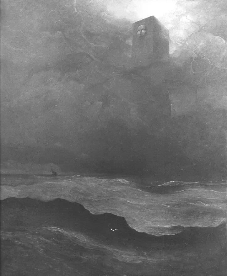 monstruo en el oceano
