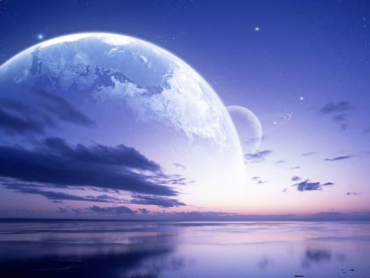 oceano de otro planeta