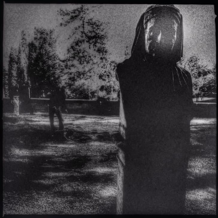 rostro de un fantasma